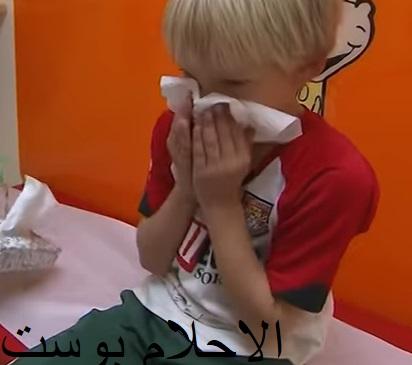 اعراض انفلونزا الاطفال