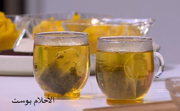 الشاي الأخضر وفوائدة